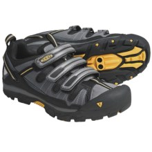 Keen Springwater Cycling Shoes (For Men) in Grey/Keen Yellow - Closeouts
