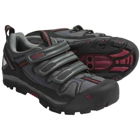 Keen Springwater Cycling Shoes - SPD (For Women) in Dark Shadow/Beet Red