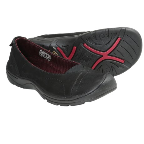 Keen Sterling City Ballerina Shoes - Leather (For Women) in Black