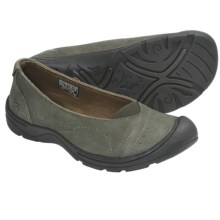 Keen Sterling City Ballerina Shoes - Leather (For Women) in Forest Night - Closeouts