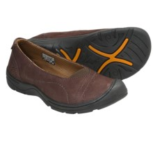 Keen Sterling City Ballerina Shoes - Leather (For Women) in Snapper - Closeouts