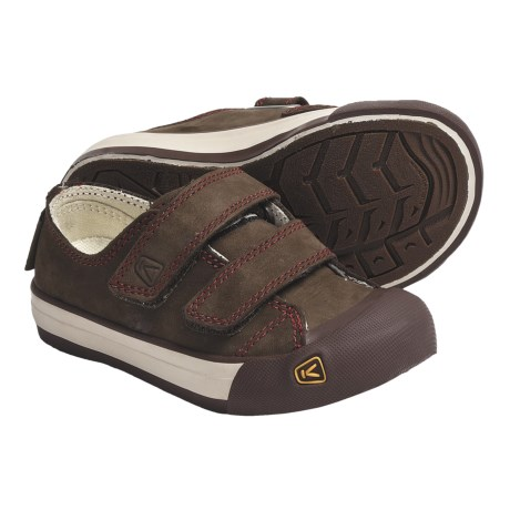 Keen Sula Shoes - Leather (For Kids and Youth) in Slate Black/Bossanova