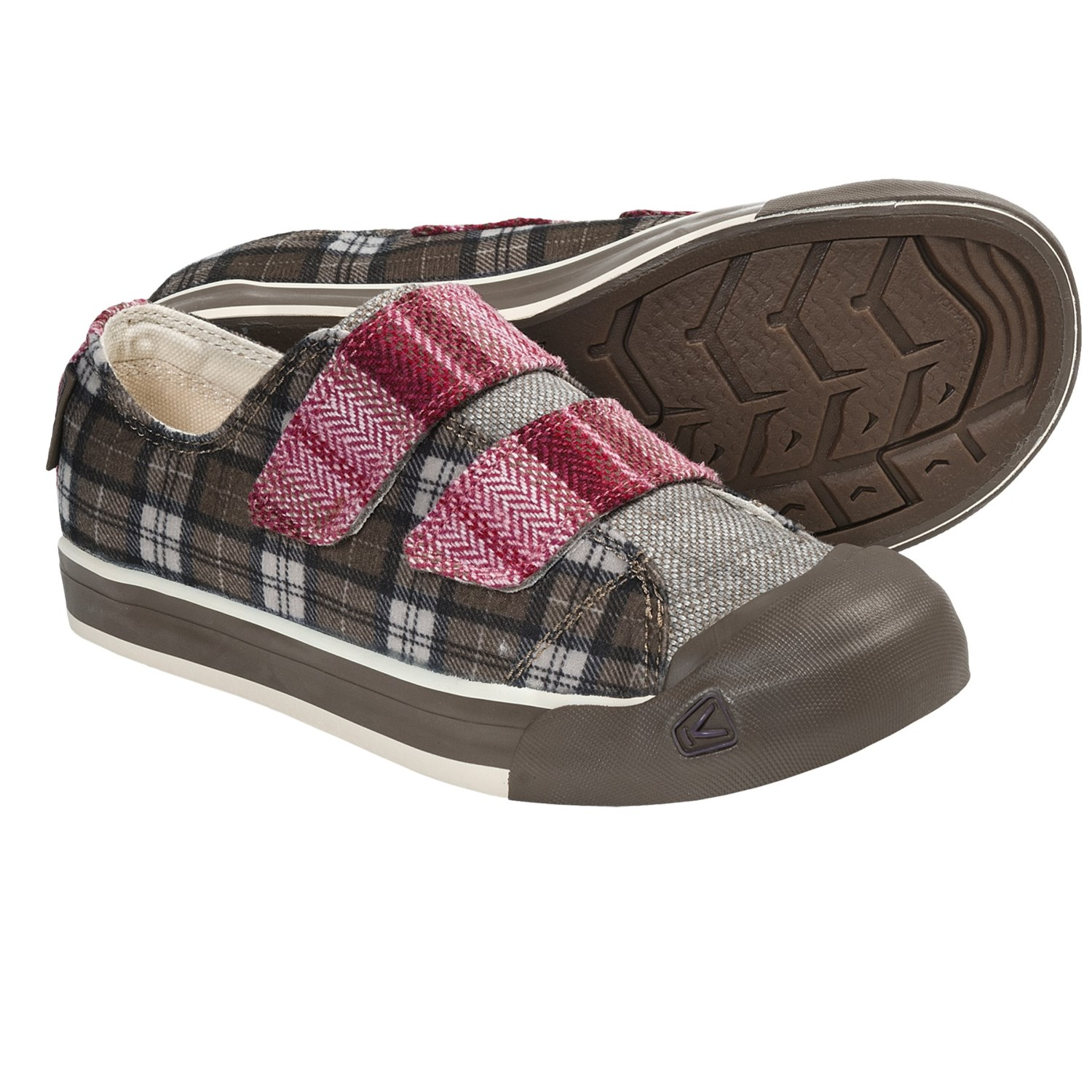 Keen Sula Shoes - Slip-Ons (For Women) in Fall Plaid