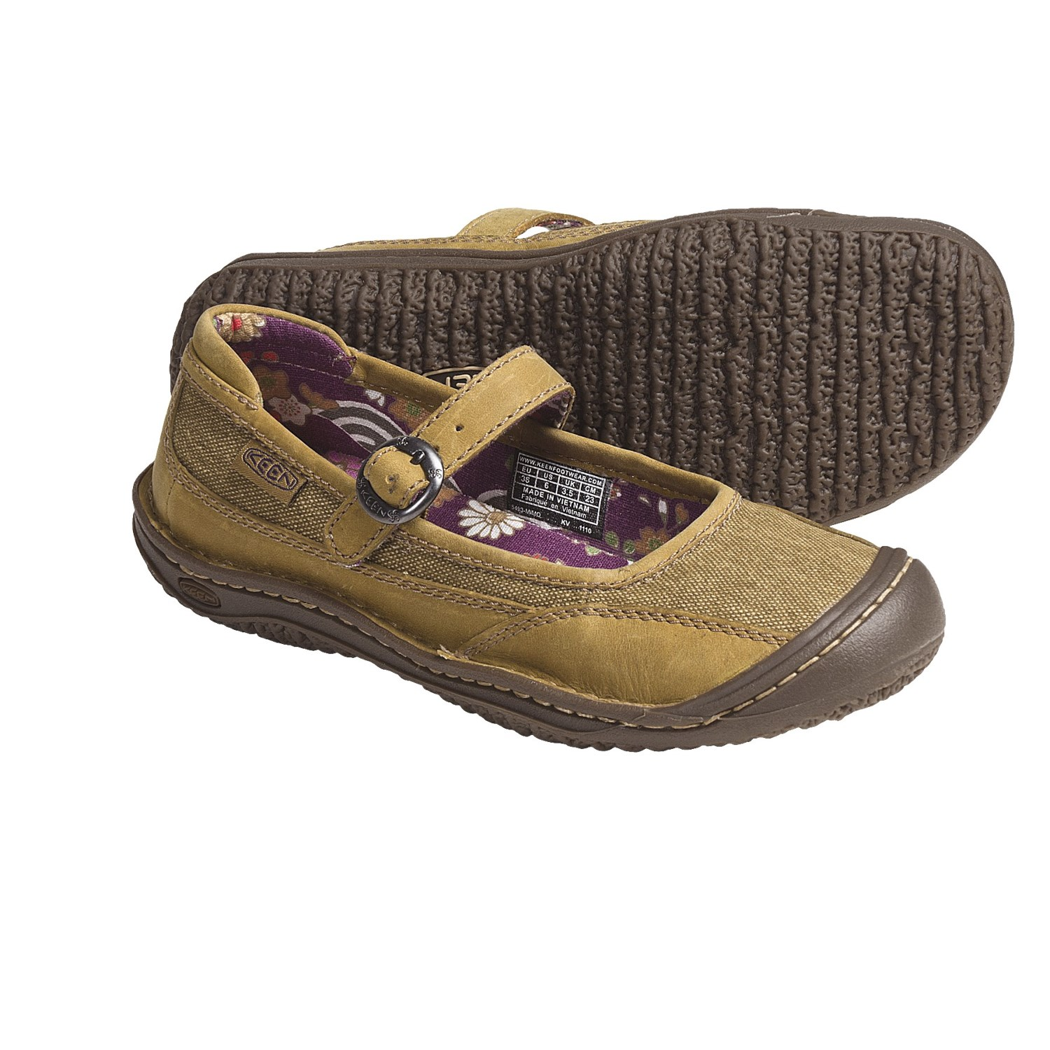 Keen Canvas Mary Jane Shoes Women