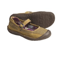 Keen Summer Golden Mary Jane Shoes - Natural Canvas (For Women) in Mimosa - Closeouts
