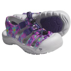 Keen Sunport Sport Sandals (For Kids and Youth) in Heliotrope/Flower Print