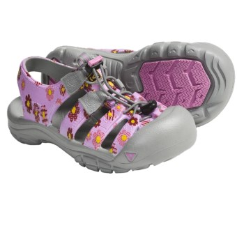 Keen Sunport Sport Sandals (For Kids and Youth) in Lilac Chiffon/Yellow Flower