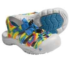 Keen Sunport Sport Sandals (For Kids and Youth) in Rainbow Tie Dye - Closeouts