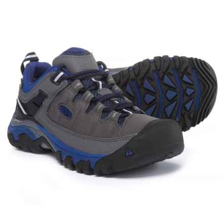Keen Targhee EXP Hiking Shoes - Waterproof (For Women) in Magnet/Blueprint - Closeouts