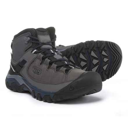 Keen Targhee EXP Mid Hiking Boots - Waterproof (For Men) in Magnet/Dress Blues - Closeouts