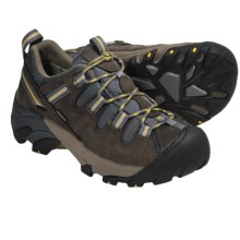 Keen Targhee II Hiking Shoes - Waterproof (For Women) in Brindle/Mimosa - Closeouts