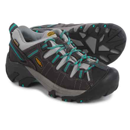 Keen Targhee II Hiking Shoes - Waterproof (For Women) in Gargoyle / Ceramic - Closeouts