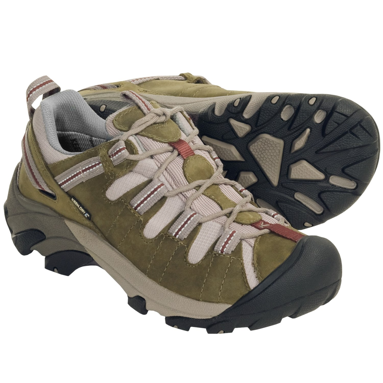 Keen Targhee II Hiking Shoes - Waterproof (For Women) in Olive