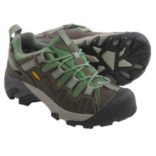 Keen Targhee II Hiking Shoes - Waterproof, Leather (For Women) in Gargoyle/Comfrey - Closeouts