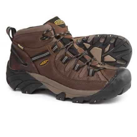Keen Targhee II Mid Hiking Boots - Waterproof (For Men) in Shitake/Brindle - 2nds