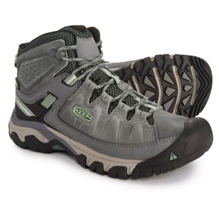 237f08725bbe Keen Targhee III Mid Hiking Boots - Waterproof (For Women) in Bleacher Duck