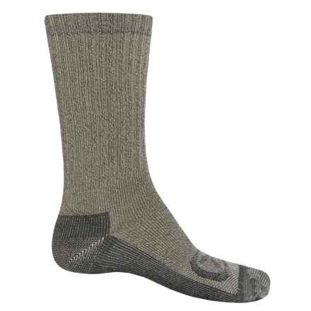 Keen Targhee Lite Hiking Socks - Merino Wool, Crew (For Men) in Green - Closeouts