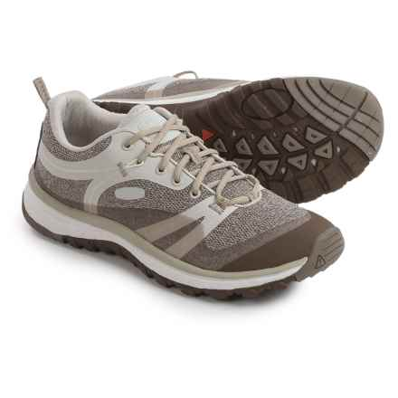 Keen Terradora Hiking Shoes (For Women) in Silver Birch/Canteen - Closeouts