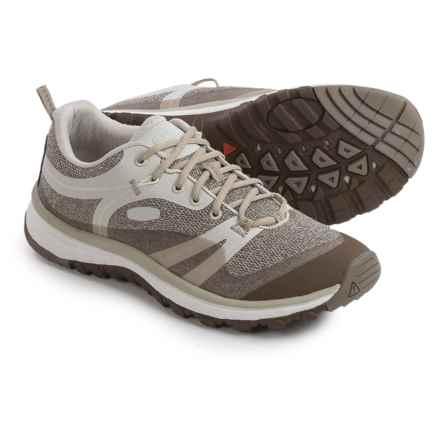 Keen Terradora Hiking Shoes (For Women) in Silver Birch/Canteen - Closeouts