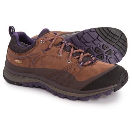 3a9aaccbc5 Keen Terradora Hiking Shoes - Waterproof (For Women) in Scotch/Mulch -  Closeouts