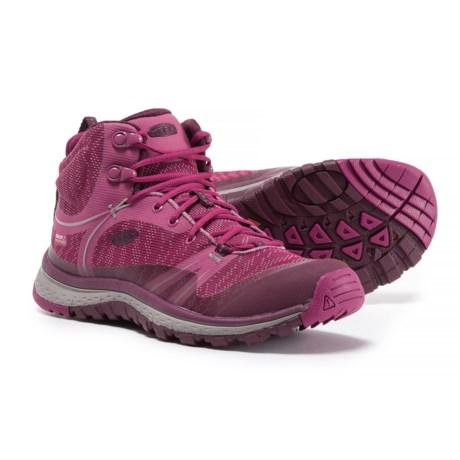 Keen Terradora Mid Hiking Boots - Waterproof (For Women) in Boysenberry/Grape Wine