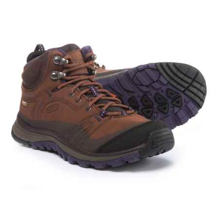 Keen Terradora Mid Hiking Boots - Waterproof (For Women) in Scotch/Mulch - Closeouts