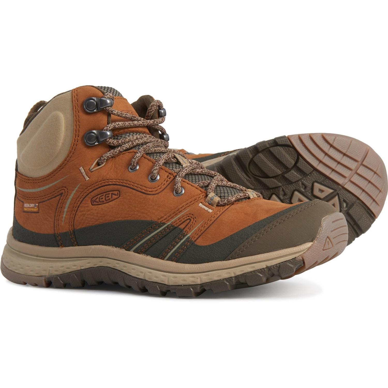KEEN Womens Terradora Mid Wp-w Hiking Boot Shoe