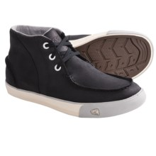 Keen Timmons Chukka Sneakers - Nubuck (For Men) in Black/Drizzle - Closeouts