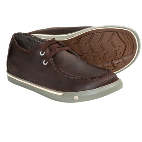 Keen Timmons Shoes - Nubuck (For Youth Boys and Girls) in Chocolate Brown
