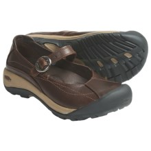 Keen Toyah Mary Jane Shoes (For Women) in Brown/Full Grain Leather - Closeouts