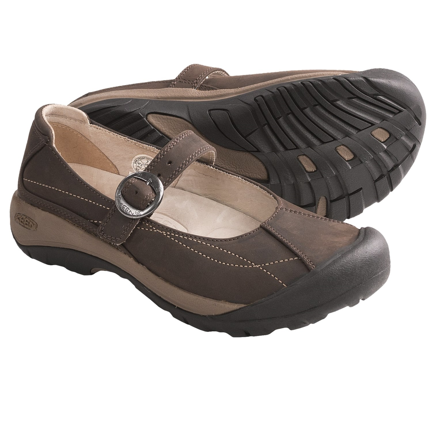 Keen Toyah Mary Jane Shoes (For Women) in Chocolate Brown