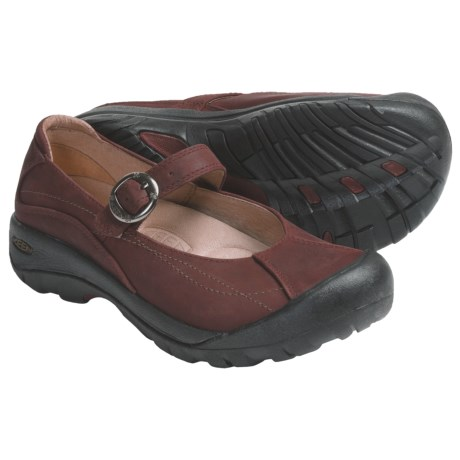 Keen Toyah Mary Jane Shoes (For Women) in Madder Brown
