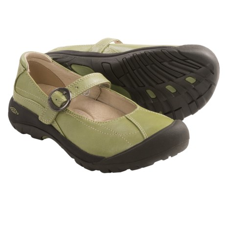 Keen Toyah Mary Jane Shoes (For Women) in Sage/Sage