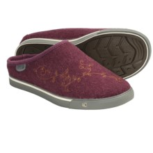 Keen Trillium Shoes - Wool, Slip-Ons (For Women) in Tawny Port - Closeouts