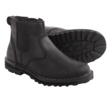 Keen Tyretread Chelsea Boots - Leather (For Men) in Black - Closeouts