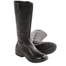 Keen Tyretread Leather Boots (For Women) in Black - Closeouts