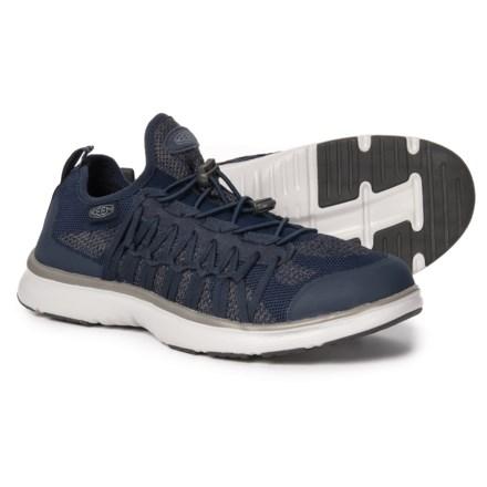 9dd654806eab Keen Uneek Exo Shoes (For Men) in Dress Blues Gray Flannel - Closeouts