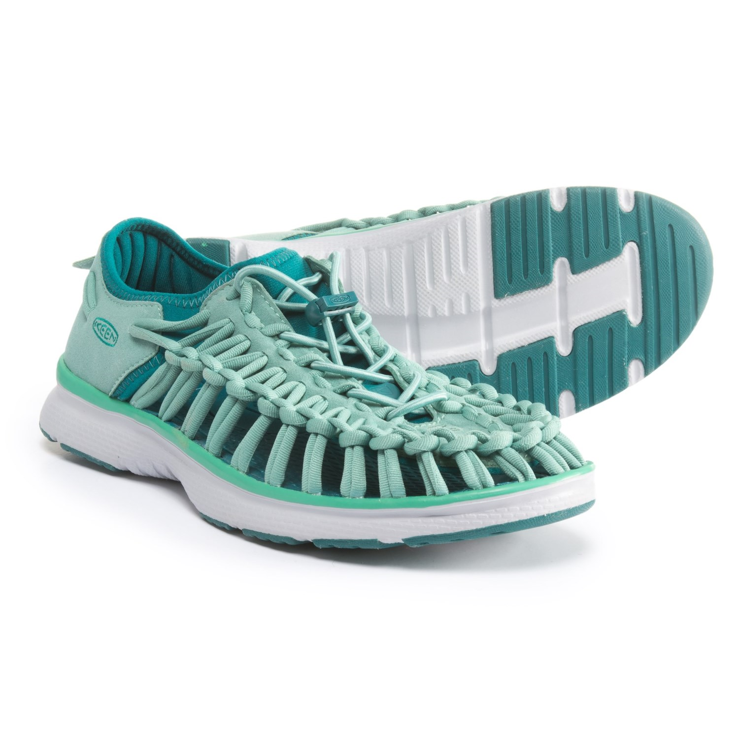 Keen Uneek O2 Closed-Back Sandals (For Women) in Malachite/Everglade