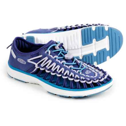 Keen Uneek O2 Sport Sandals (For Big Girls) in Liberty/Azure Blue - Closeouts