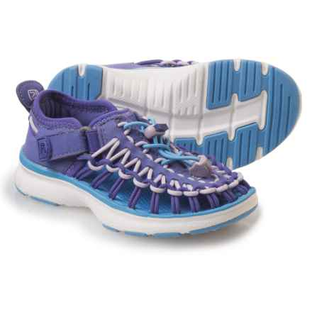 Keen Uneek O2 Sport Sandals (For Little Girls) in Liberty/Azure Blue - Closeouts