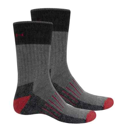 Keen Utility Socks - Crew, 2-Pack (For Men) in Gray - Closeouts