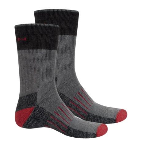 Keen Utility Socks - Crew, 2-Pack (For Men) in Gray