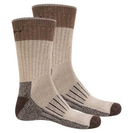 Keen Utility Socks - Crew, 2-Pack (For Men) in Oatmeal
