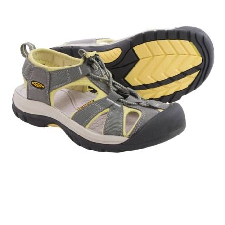 Keen Venice H2 Sport Sandals (For Women) in Gargoyle/Custard