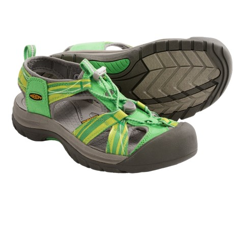 Keen Venice H2 Sport Sandals (For Women) in Greenbriar/Neutral Grey