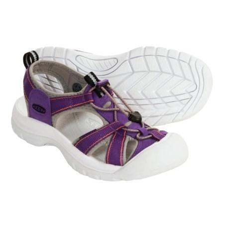 Keen Venice H2 Sport Sandals (For Women) in Heliotrope/Persimmon