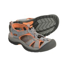 Keen Venice H2 Sport Sandals (For Women) in Zinc/Nectarine - Closeouts