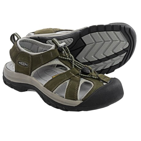 Keen Venice Sport Sandals (For Women) in Forest Night/Neutral Grey