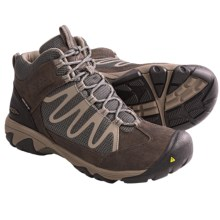 Keen Verdi Mid WP Light Hiking Boots - Waterproof (For Women) in Dark Shadow/Brindle - Closeouts