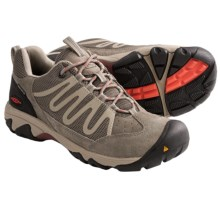 Keen Verdi WP Light Hiking Shoes - Waterproof (For Women) in Brindle/Hot Coral - Closeouts